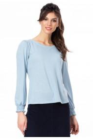 Bluza Sense tricot Reagan bleu