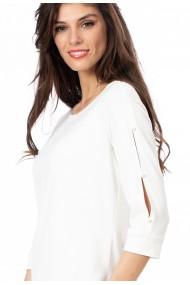 Bluza Sense jersey Celine ivoire