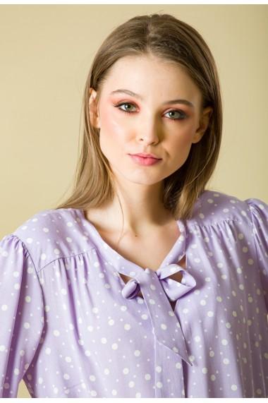 Bluza Sense vascoza Dots lila