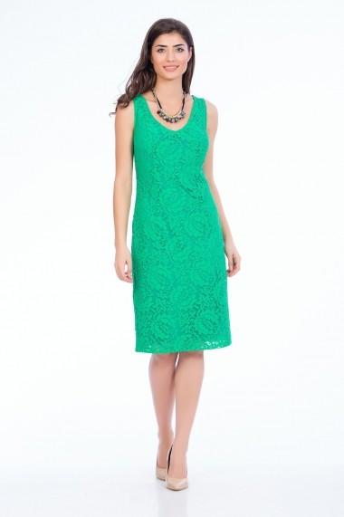 Rochie de seara Sense Pretty in Green verde