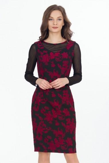 Rochie de zi Sense Donatella neagra