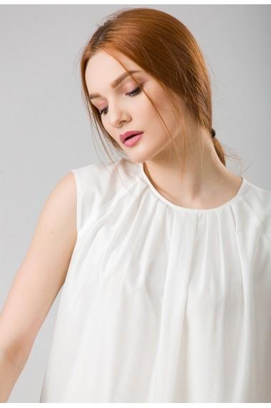Bluza Sense matase Christal ivoire