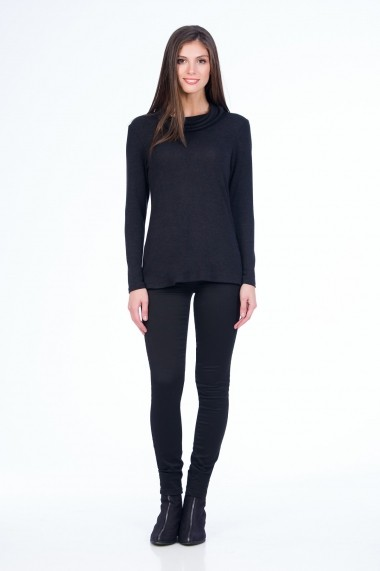 Pantaloni skinny Sense Brienne FSE-XC138--9 negru