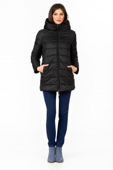 Jacheta Sense reversibila Yoga negru