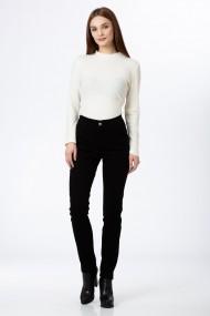 Pantaloni skinny Sense bumbac Coraly negru