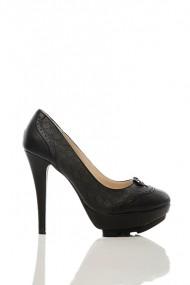 Pantofi cu toc 15751-50297 Negru