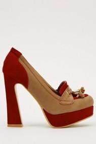 Pantofi cu toc 15955-50804 bej
