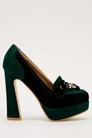 Pantofi cu toc 15955-50808 negru