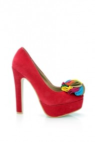 Pantofi cu toc 16222-51392 maro