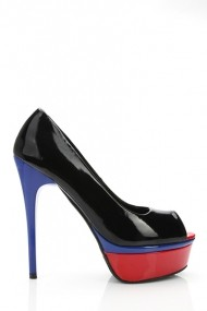 Pantofi cu toc 19394-59780 negru
