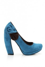 Pantofi cu toc 20076-61478 verde