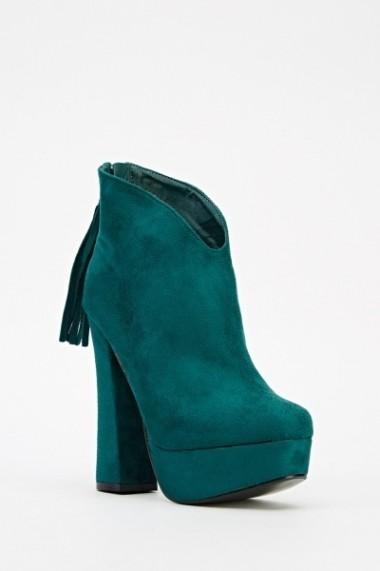 Botine 20733-63387 Verde