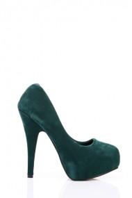 Pantofi cu toc 21797-66342 verde