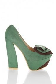 Pantofi cu toc 22711-69029 Verde