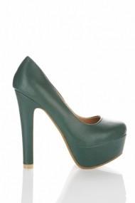 Pantofi cu toc 22713-69038 Verde