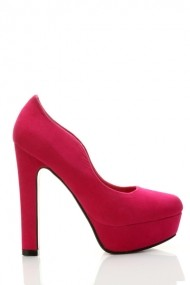 Pantofi cu toc 24080-72942 Fucsia