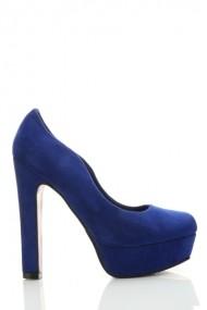 Pantofi cu toc 24080-72944 Albastru