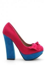 Pantofi cu toc 30784-89424 Fucsia