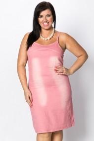Rochie scurta 32890-93790 roz
