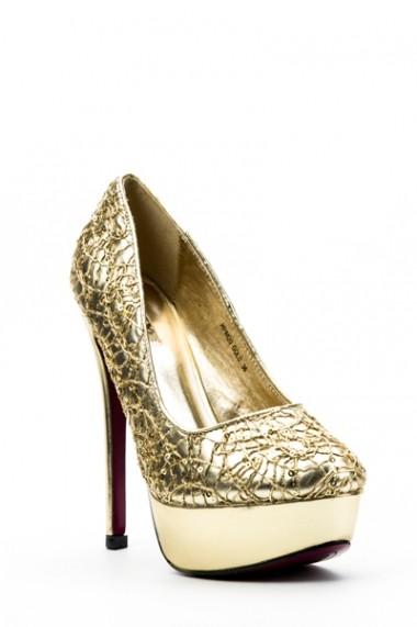 Pantofi cu toc 32927-93982 Negru