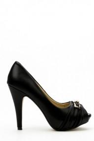 Pantofi cu toc 34532-98007 negru