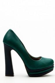 Pantofi cu toc 34764-98473 Verde