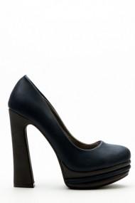 Pantofi cu toc 34764-98474 Albastru