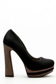 Pantofi cu toc 34764-98477 Negru