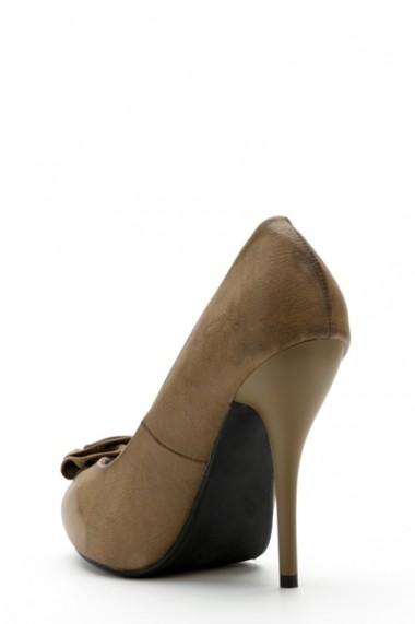 Pantofi cu toc 34777-98518 negru