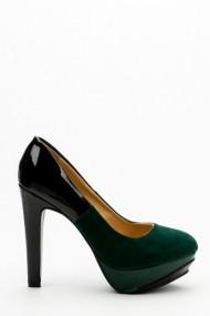 Pantofi cu toc 35274-99563 Verde