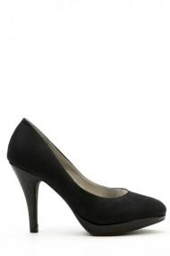 Pantofi cu toc 35761-100620 negru
