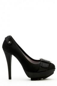 Pantofi cu toc 35876-100940 negru