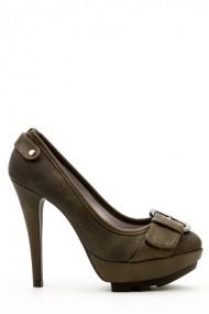 Pantofi cu toc 35876-100942 maro