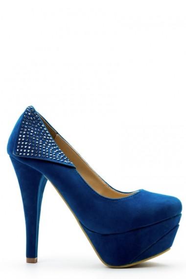 Pantofi cu toc 36378-102168 Verde