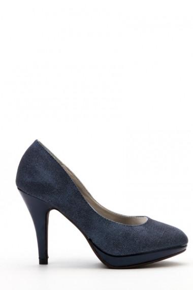 Pantofi cu toc 36968-103769 Gri