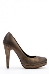 Pantofi cu toc 37821-106018 Maro