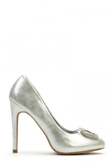 Pantofi cu toc 37972-106475 negru