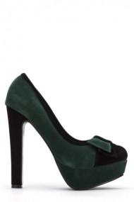 Pantofi cu toc 38796-108585 Negru