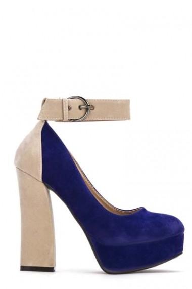 Pantofi cu toc 38797-108589 negru