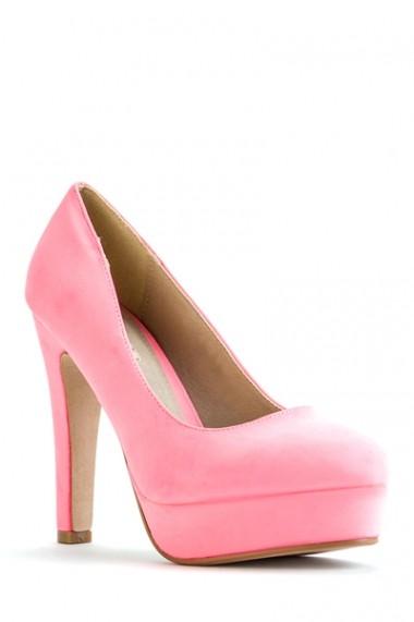 Pantofi cu toc 41725-115074 maro