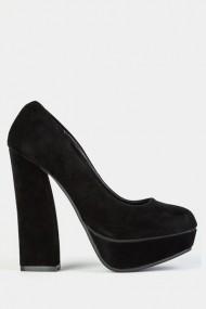 Pantofi cu toc 42488-116726 negru