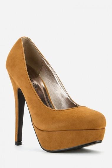 Pantofi cu toc 42976-117696 maro