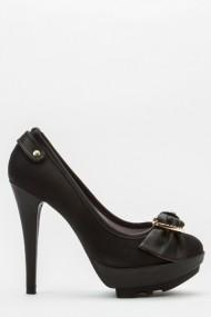 Pantofi cu toc 43707-119302 negru