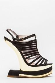 Sandale cu toc 43831-119611 Negru - els