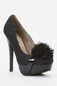 Pantofi cu toc 44007-119961 Negru