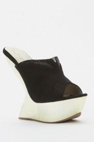 Sandale cu toc 44009-119966 Negru