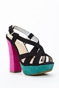 Sandale cu toc 44292-120552 Negru