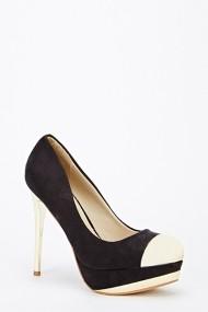 Pantofi cu toc 46427-125256 Negru