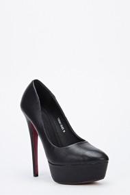 Pantofi cu toc 47408-130373 negru