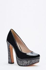 Pantofi cu toc 49220-132087 negru